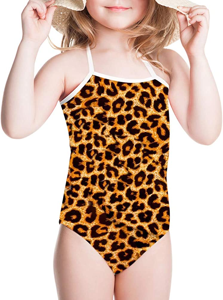 HUGS IDEA 3D Animal Print One Piece Swimsuit for 3Y-8Y Girls