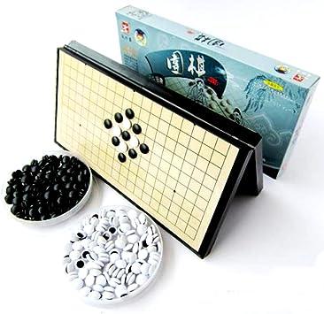 Importadores maravillosos Go Go Set Set Portátil Plegable 28.5cm Juego de Mesa Viaje: Amazon.es: Juguetes y juegos