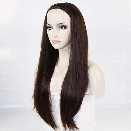 Ximosi 100% pelucas Pony del pelo humano de la Virgen Europea ...