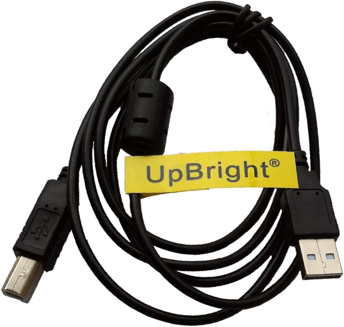 UpBright USB 2.0 Cable Cord Compatible with M-Audio 9900-50832-00 Torq Xponent KEYRIG 25 Oxygen 8 V2 UC-33e Controller Oxygen 61 Keystation 61es 88es 49e AXIOM Pro 25 49 61 Keyboard MK-449C MK-425C