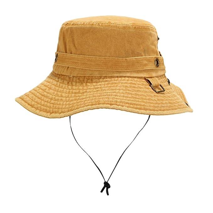TUDUZ Unisex Sombrero De Sol Al Aire Libre Cubo De Sombrero De ...