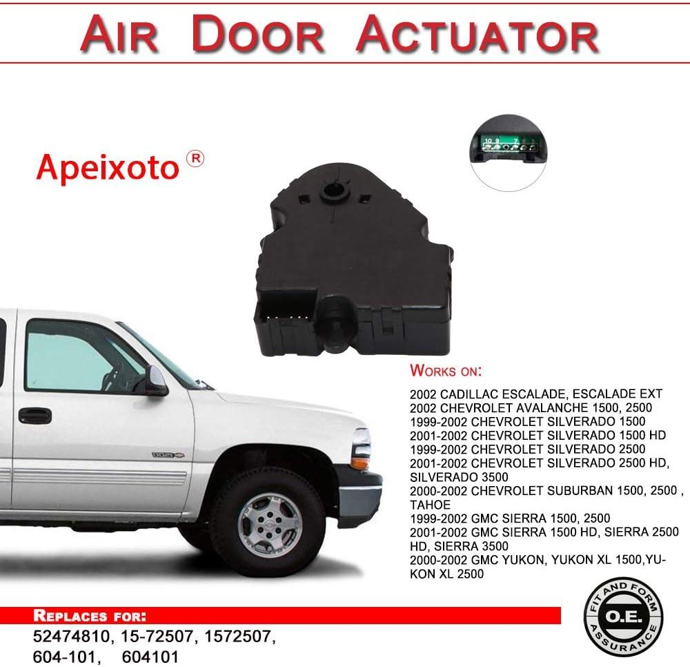 HVAC Heater Blend Door Actuator For 99-2002 Chevrolet Silverado 1500 Front