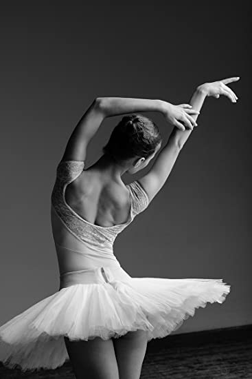 Postereck Poster 0873 Ballerina, Tutu Tanz Musik Sport
