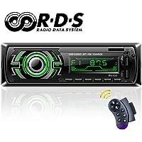 Autoradio Bluetooth, TOYOUSONIC Radio Universal para Coche FM/RDS
