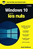 Windows 10 pour les Nuls poche, 3e édition