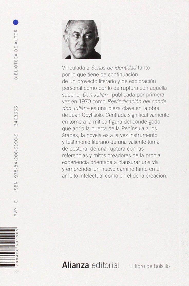 Don Julián El libro de bolsillo - Bibliotecas de autor ...