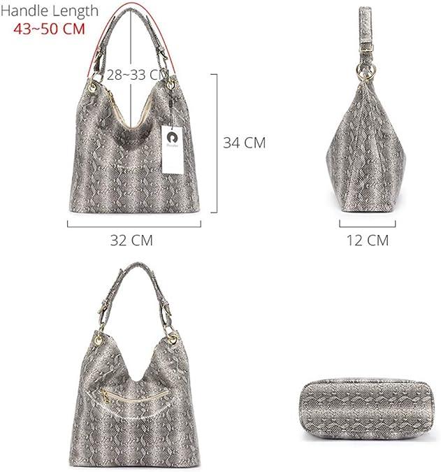 AZllo Bolsos de lujo bolso de mujer diseñador de serpiente