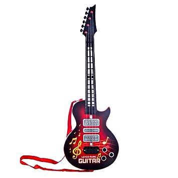 4 Saiten elektrische Musik Gitarre Kinder Musikinstrumente Spielzeug Geschenk