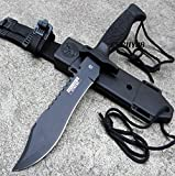 12'' Military Combat Tactical Bowie Survival Hunting Knife - [5209]