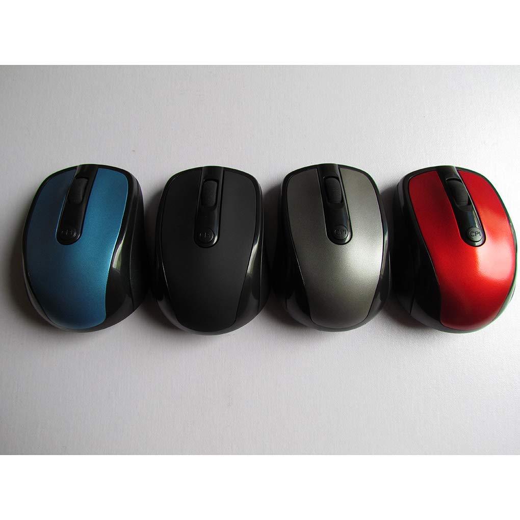 beIilan 2.4Ghz Wireless Mouse 1600 dpi Regolabile casa Regolabile Ufficio Computer Wireless Gioco Ottico di Gioco Cordless Mouse