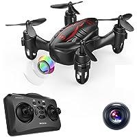 DROCON HACKER Drone- Thumb Size RC Quadcopter Micro Mini Drone with 720P HD Camera, Headless Mode, Easy to Trim, 360 Degree Flip - Play For Fun Level