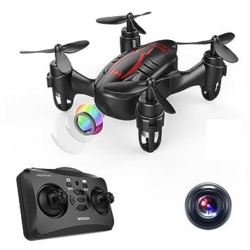 DROCON Drone Mini Pocket GD60 Helicóptero de control remoto de la ...