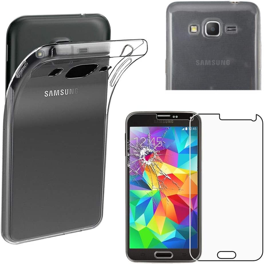 ebestStar - Coque Compatible avec Samsung Grand Prime Galaxy G530F, Value Edition G531F Etui Housse Silicone Gel Ultra Fine Invisible, Transparent ...