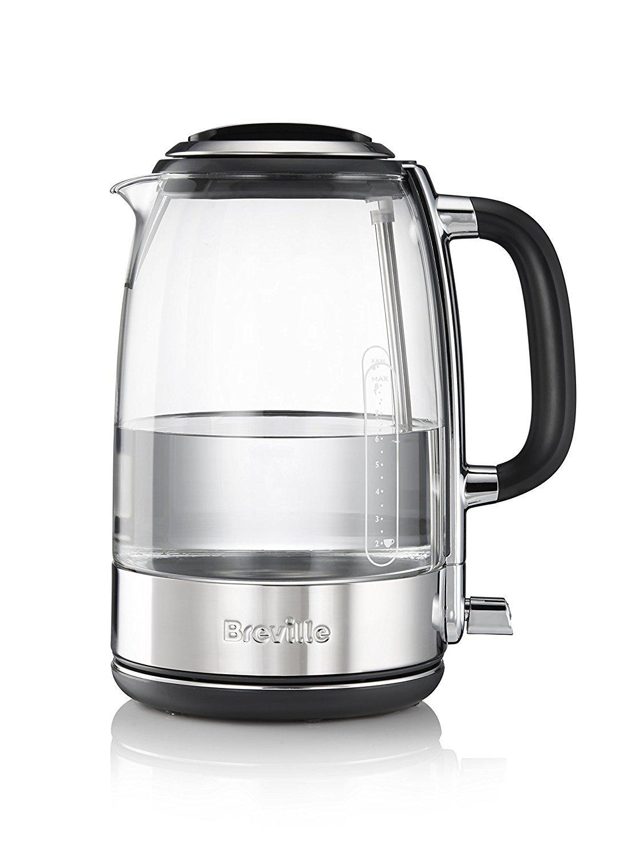 Breville VKJ786X - Hervidor, jarra de cristal, 2400 W [Clase de eficiencia energética A]