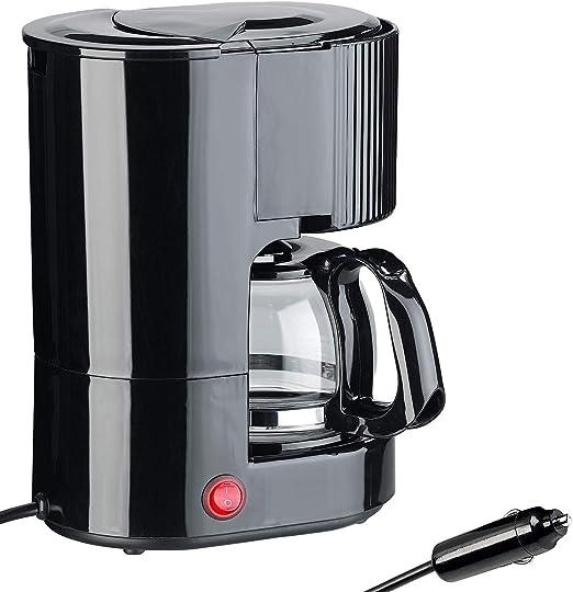 Rosenstein & Söhne - Cafetera de goteo (12 V, hasta 3 tazas, 650 ml, 12 V, 170 W): Amazon.es: Hogar