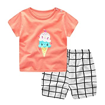 Hot 24month Newborn Baby Boys Clothes set T-shirts+Pants baby Girl Clothes Suits