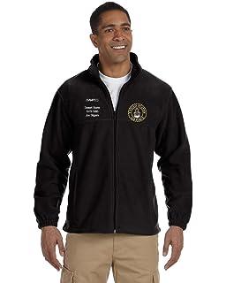 MilitaryBest U.S Navy Emblem Vietnam Sierra Pacific Full-Zip Fleece Vest