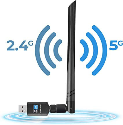 Portable 600Mbps High Speed Network Card Wifi Adapter 802.11ac Wireless  Conven