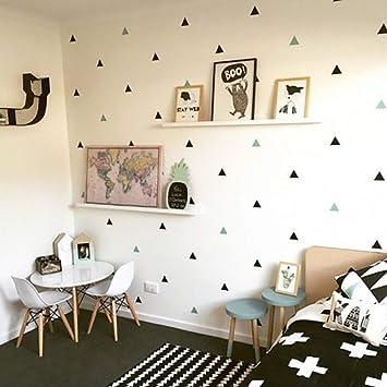 Gxlqt Autocollant Mural Bebe Garcon Chambre Triangles