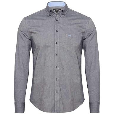 FYNCH-HATTON Herren Freizeit Hemd Garment Washed Oxford 1218-8040-8043  Navy, XXL  Amazon.de  Bekleidung 588f7a1dec