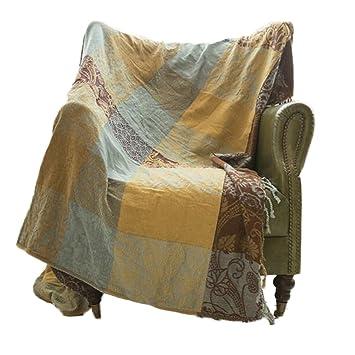 Retro Sofa-Abdeckung, Wohnzimmer-Dekor, Gemütliche Couch ...