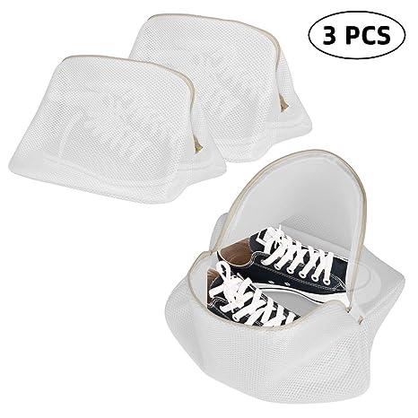 ANSUG Paquete de 3 Bolsas de Malla de lavandería para ...