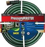 "Swan Pressure Master SN7958100 Premium Heavy Duty 5/8"" x 100-Foot Green Garden Hose"