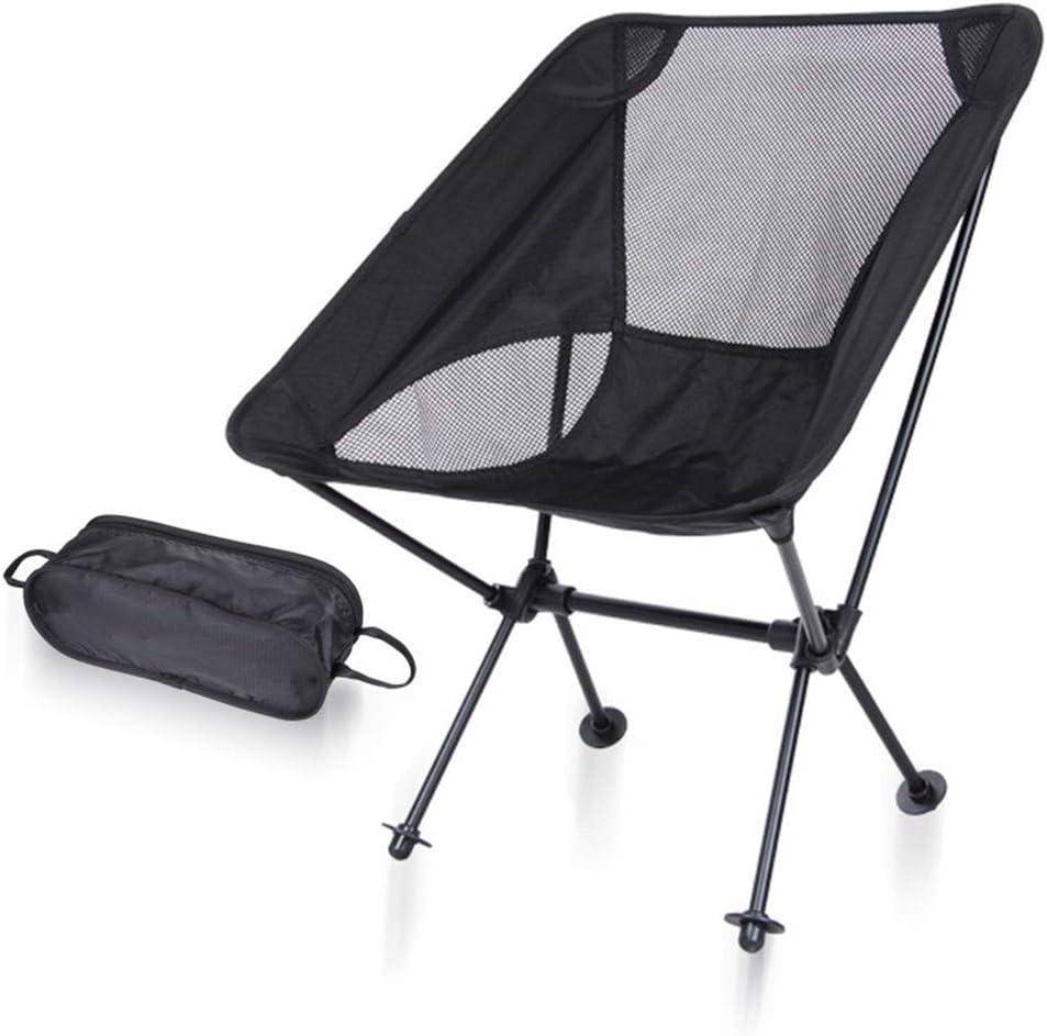 K-Y Silla Plegable De Camping Al Aire Libre Silla De Dibujo De Aluminio Portátil: Amazon.es: Hogar