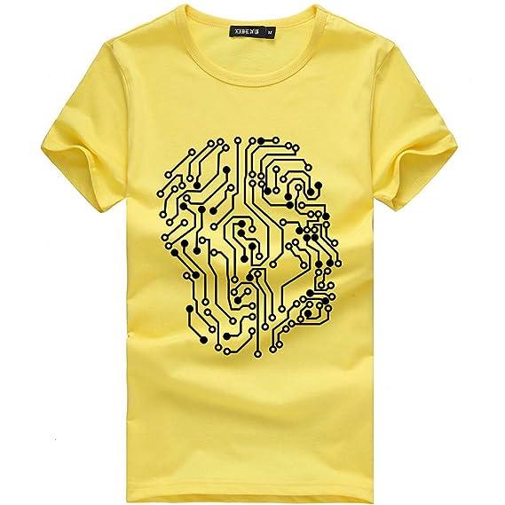 Unisexo Camisetas Divertidas Manga Corta Tallas Grandes Camisa de Deporte Originales Impresión de Moda Tops de Basica Cuello Redondo Múltiples Estilos ...