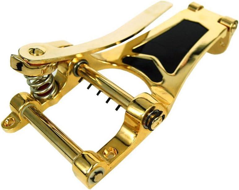cromado lyws Tr/émolo Vibrato puente cordal para Les Paul Guitarra Archtop cuerpo hueco