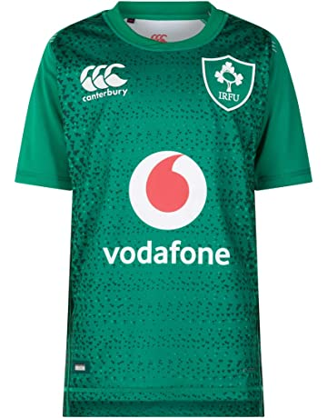 Canterbury Children s Official Ireland 18 19 Home Pro Rugby Jersey a08acdda9b48