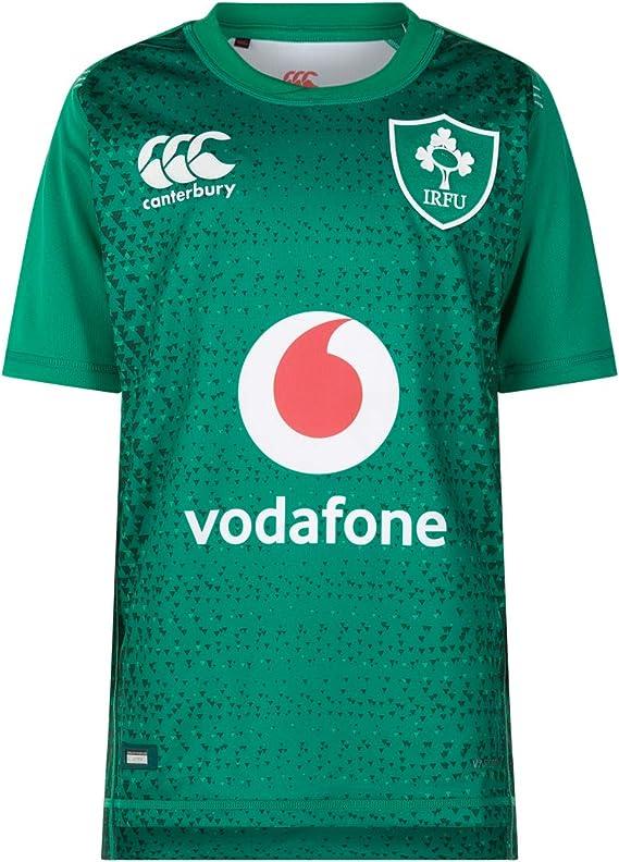 Canterbury - Camiseta de Rugby Oficial de Irlanda 18/19 para niños ...