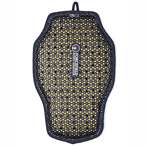 Forcefield Body Armour Pro Lite K Back Insert (003) (Black/Yellow)