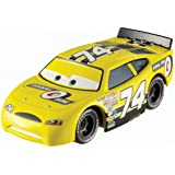 Disney Pixar Cars Sidewall Shine # 74 (Piston Cup Series, # 15 of 16) - Voiture Miniature Echelle 1:55
