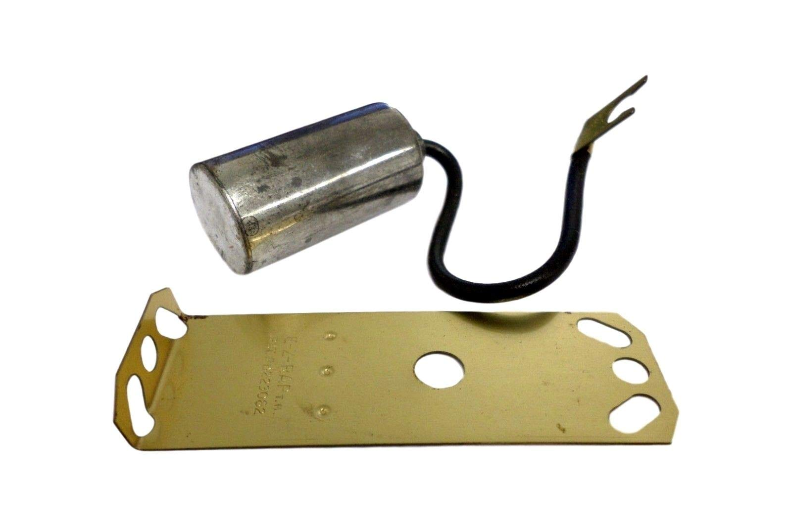 Quality Parts D-204 D204 Ignition Capacitor Condensor W/Plate Fits Jeep Buick by Quality Parts