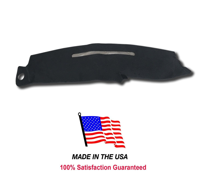 Black 1997-1999 Chevy Silverado Dash Cover Mat Pad Carpet CH75