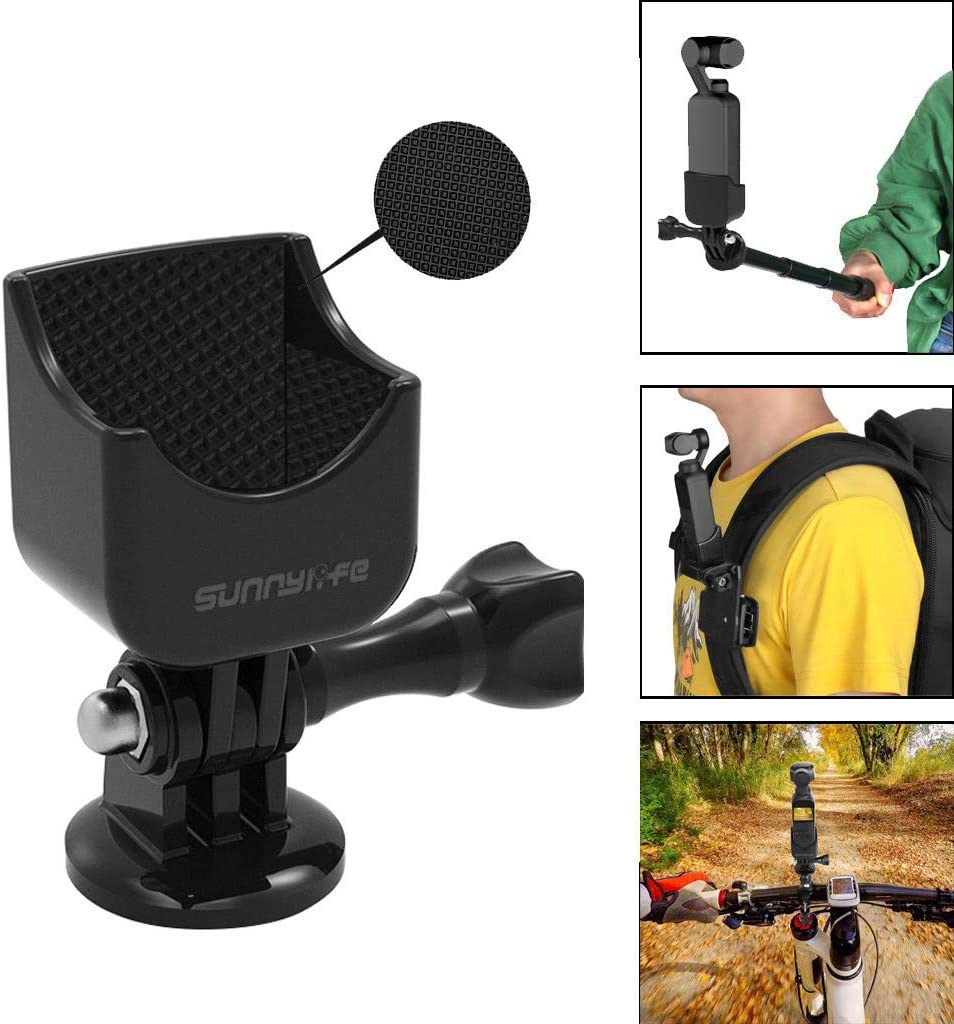 AutumnFall Multifunctional Expanding 1//4 Screw Adapter Mount Stand Compatible with DJI OSMO Pocket