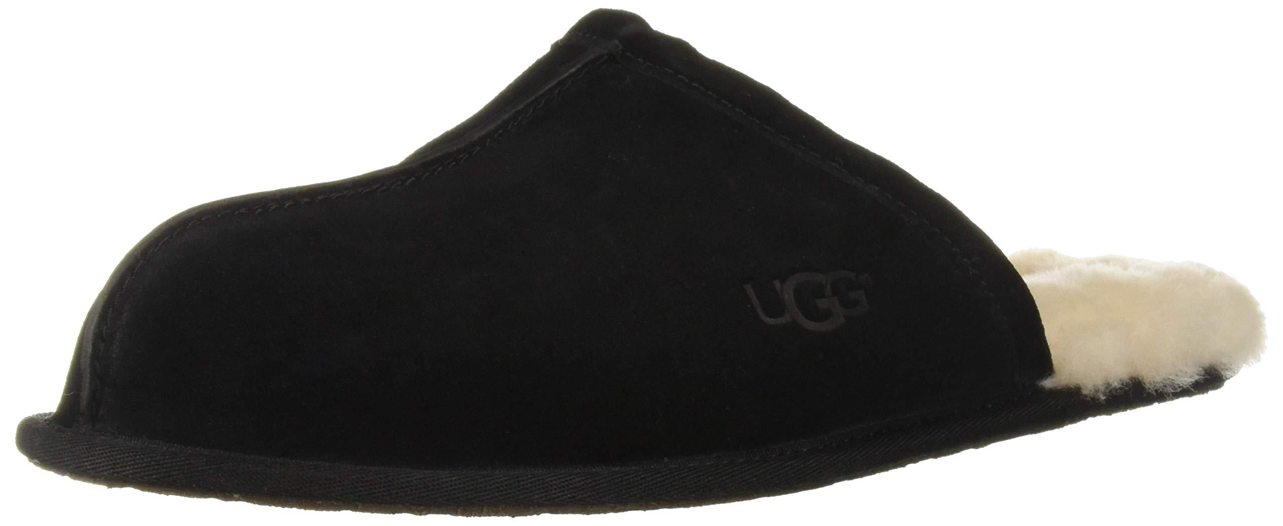 UGG Men's Scuff Slipper Black 13 M US