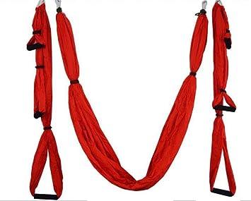 Kingli Ultra fuerte Antigravity Aerial Yoga Sling trapecio ...