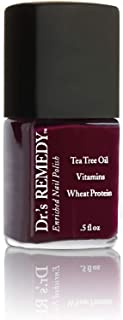 product image for Dr.'s Remedy Enriched Nail Polish (DEFENSE Deep Red)