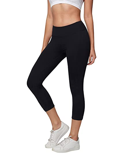 d5300610384a0 Amazon.com: AJISAI Womens Workout Leggings Mid-Waist Yoga Pants ...