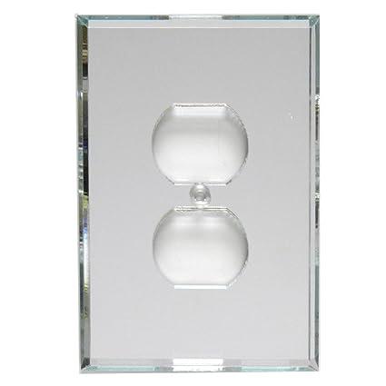 Glassalike Duplexoutlet Acrylic Mirror Plate Switchplates And