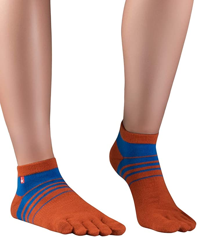 Knitido Track&Trail Spins Calcetines Deportivos con Dedos de Hombre y Mujer, para Deporte, Running y Zapatos de Cinco Dedos: Amazon.es: Deportes y aire libre