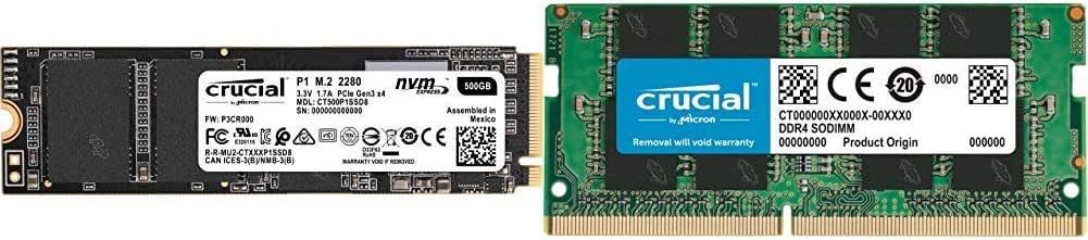 Crucial P1 CT500P1SSD8 - Disco Duro sólido Interno SSD de 500 GB ...