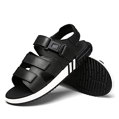 Sandals Men Casual Leather Sports Korean Fisherman Version Elastic Breathable Strap Hiking Shoes