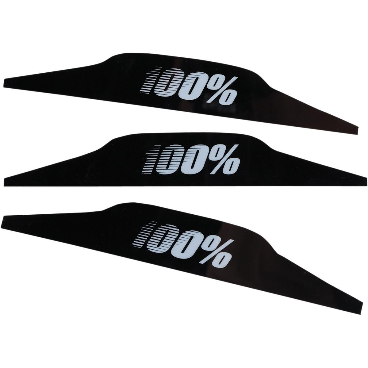 Pack of 3-51023 100/% Percent Speedlab SVS Goggle System Replacement Mud-Flap