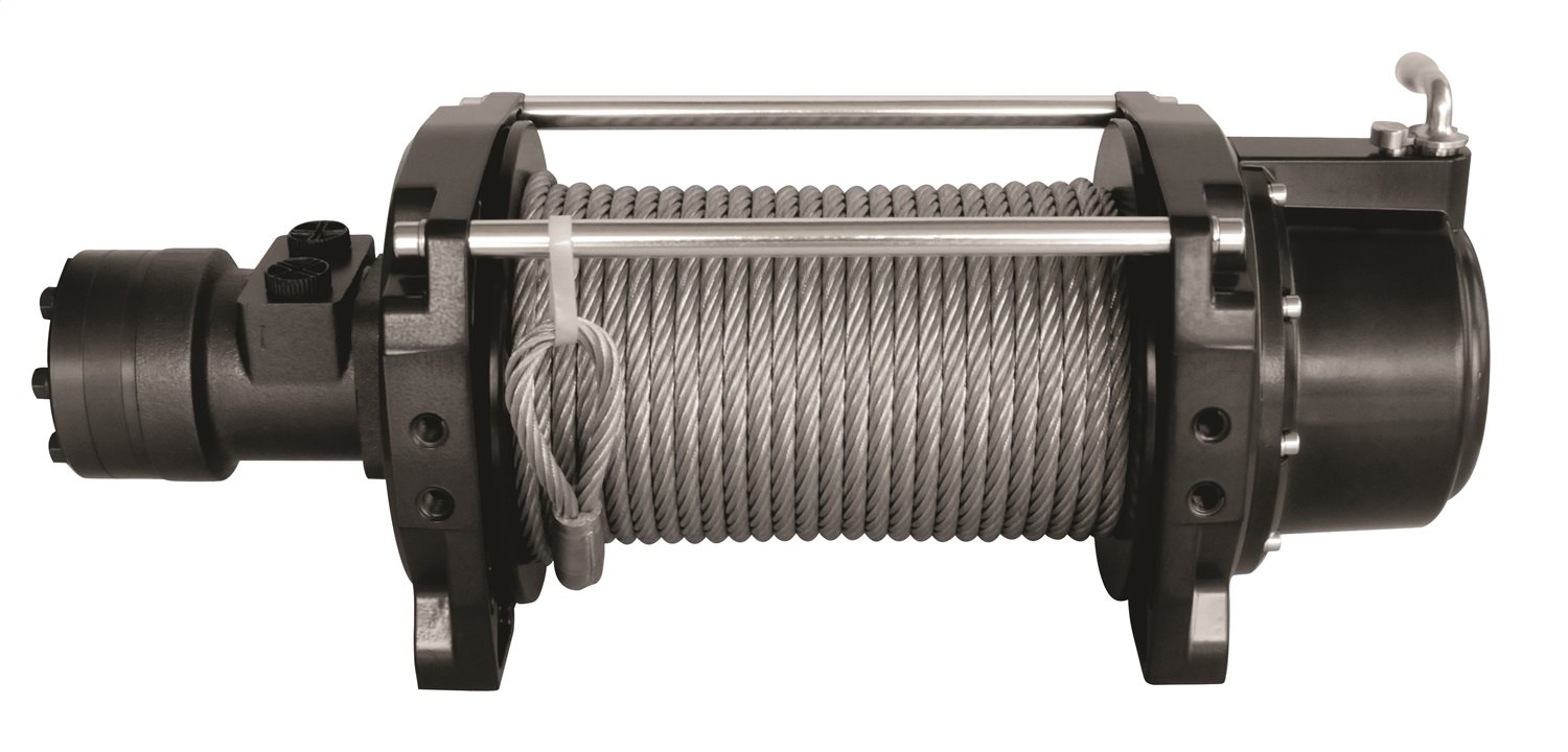 1 Pack 9,000 lb Towing Capacity Mile Marker 70-59000C Tow Truck Hydraulic Winch