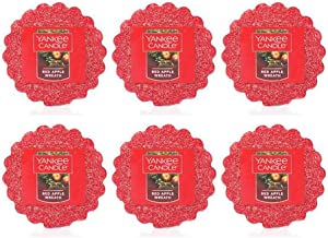 Yankee Candle Lot of 6 Red Apple Wreath Tarts Wax Melts