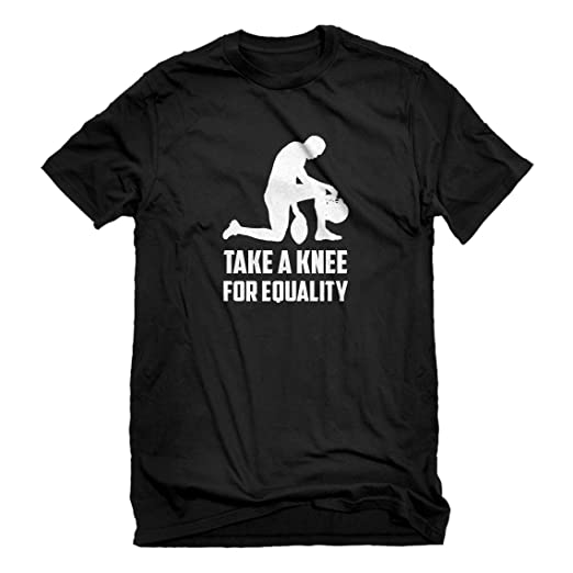 fbd1784f948ee Indica Plateau Mens Players Take The Knee for Equality T-Shirt