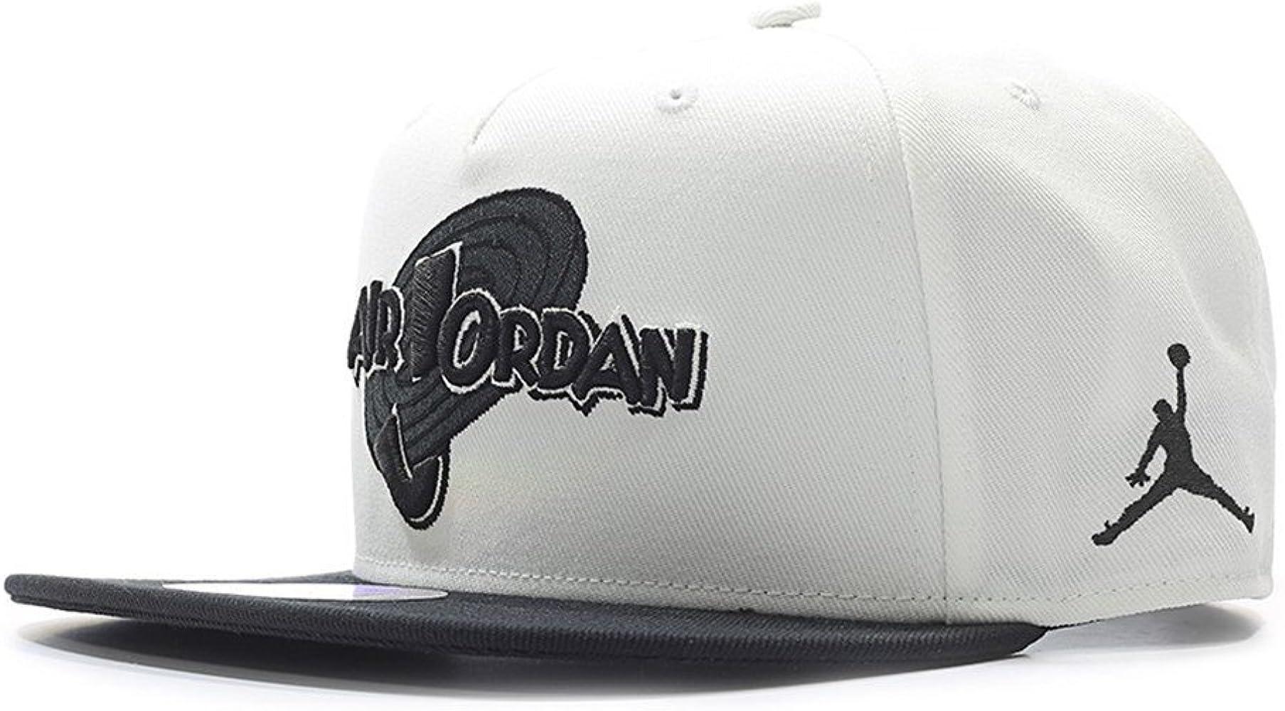 Nike Michael Jordan Space Jam Snapback Gorra, Hombre, (Blanco ...